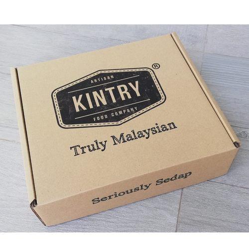 Kraft Gift Box + Shredded Paper Decor