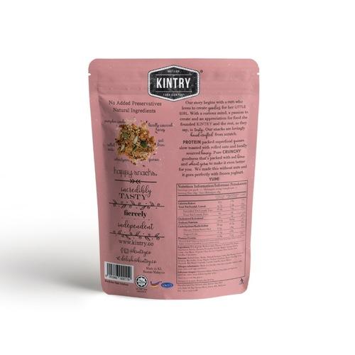 KINTRY Honey Quinoa Granola -no nuts- 200g Halal
