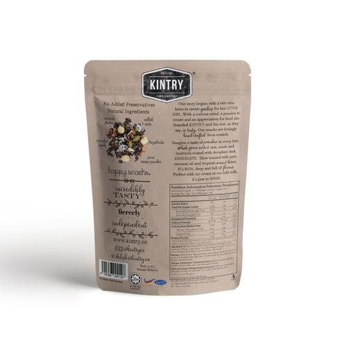 KINTRY Chocolate Hazelnut Granola 60g Halal