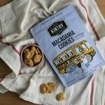 KINTRY Macadamia White Chocolate Cookies 120g Halal
