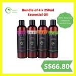 Bundle Sale 4x 250ml Essential oil (water-based) @ $66.80