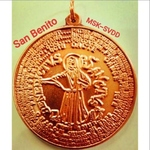 San Benito Protection and Lucky Charm Pendant