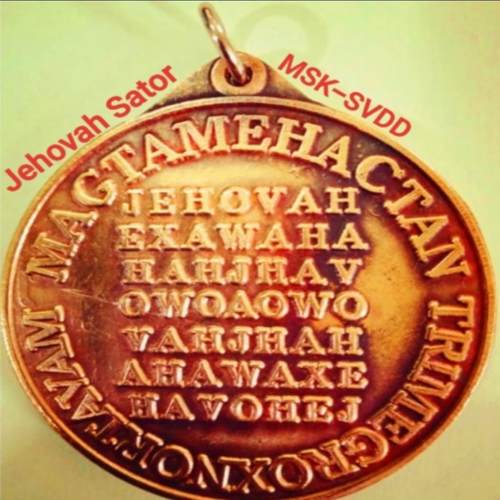 The Seal of Jehovah Medallion