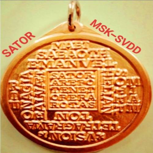 Sator General Protection and Lucky Charm Medallion