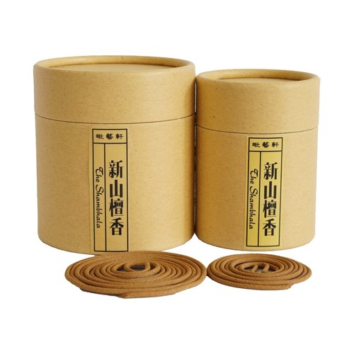 Sandalwood Incense Coils 新山檀盘香
