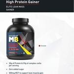MastMart MuscleBlaze High Protein Lean Mass Gainer, 3 Kg Chocolate