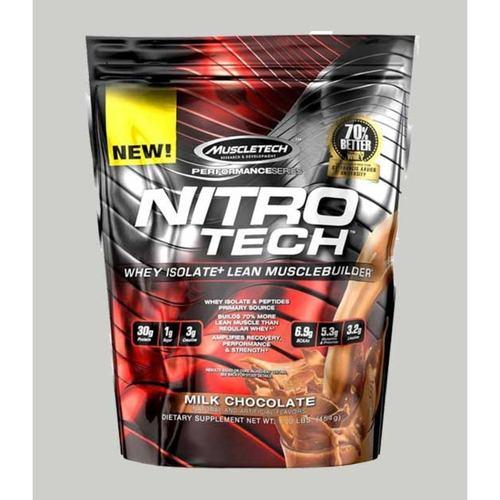 WellnessMart Muscletech Nitrotech Performance Series Chocolate 1 Lbs