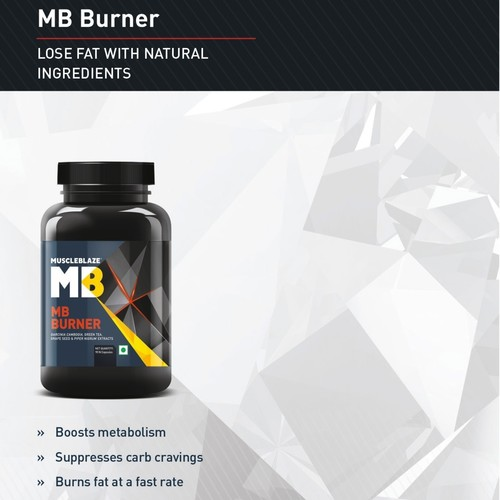 MastMart MuscleBlaze MB Burner with Garcinia Cambogia, 90 capsules Unflavoured