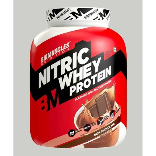 MastMart Bigmuscles Nutrition Nitric Whey Protein Rich Chocolate 4.4 lbs
