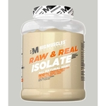 MastMart Bigmuscles Nutrition Raw & Real Isolate Whey Protein Unflavoured 4.4 lbs