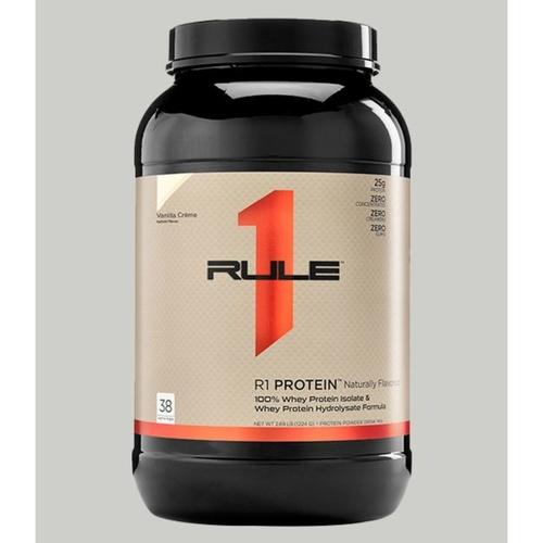 WellnessMart R1 Whey Protein Vanilla Creme Naturally Flavored 2.46 lbs
