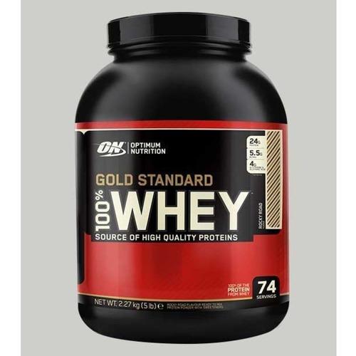 WellnessMart ON 100 Gold Standard Whey Protein Rocky Road 5 lbs