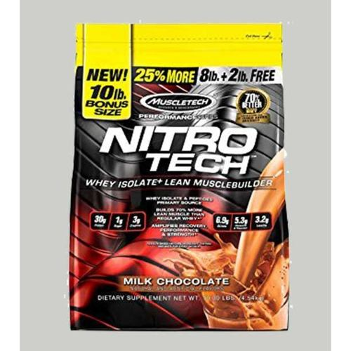 WellnessMart Muscletech Nitrotech Performance Series Chocolate 10 Lbs