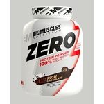 MastMart Bigmuscles Nutrition ZERO Protein Powder from 100 Whey Isolate Rich Chocolate 4.4 lbs