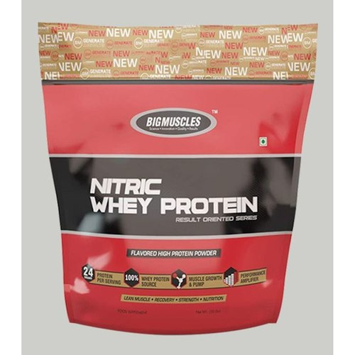 MastMart Bigmuscles Nutrition Nitric Whey Protein Strawberry Banana Twirl 10 lbs