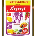 BAGRRYS MUESLI FRUIT N NUT 750G