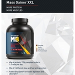 MastMart MuscleBlaze Mass Gainer XXL, 3 Kg Chocolate