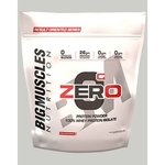 MastMart Bigmuscles Nutrition ZERO Protein Powder from 100 Whey Isolate Caffe Latte 9 lbs
