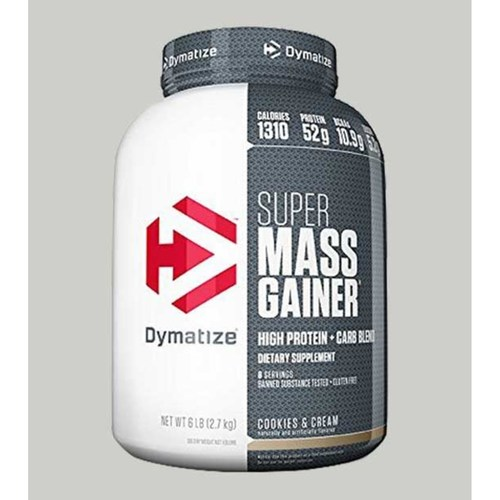 Dymatize - Super Mass Gainer Cookies and Cream 6 Lbs