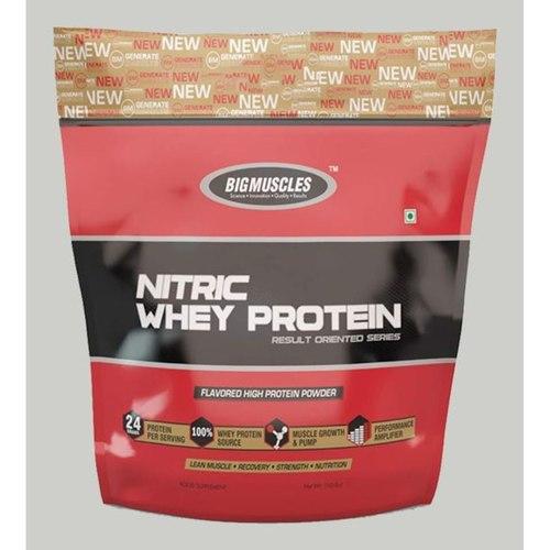 MastMart Bigmuscles Nutrition Nitric Whey Protein Cafe Latte 10 lbs