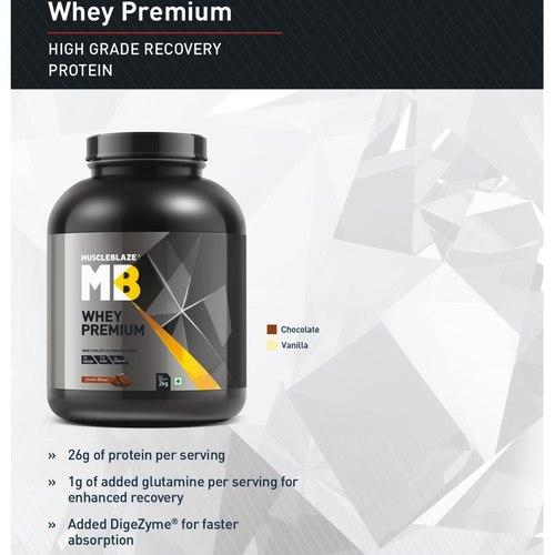 MastMarty MucscleBlaze Whey Premium, 2 Kg Rich Milk Chocolate