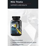 MastMart MuscleBlaze Milk Thistle, 60 capsules Unflavoured