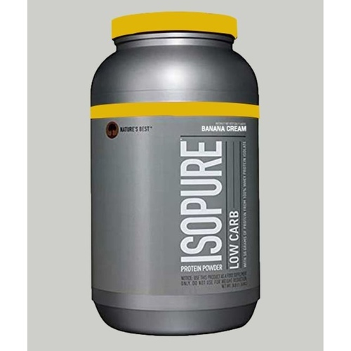 WellnessMart Isopure Whey Protein Isolate Banana Cream 3 lbs