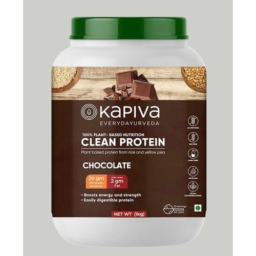 MastMart Kapiva Ayurveda Clean Protein Chocolate 1 Kg