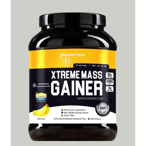 Nutrition Planet - Xtreme Mass Gainer wDigeZyme Banana 3kg