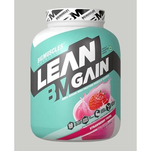Bigmuscles Nutrition Lean Gain Strawberry 6 lbs