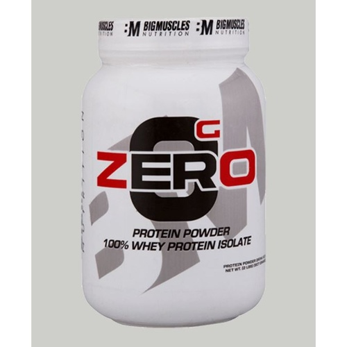 MastMart Bigmuscles Nutrition ZERO Protein Powder from 100 Whey Isolate Strawberry &amp Banana Twirl 2 lbs