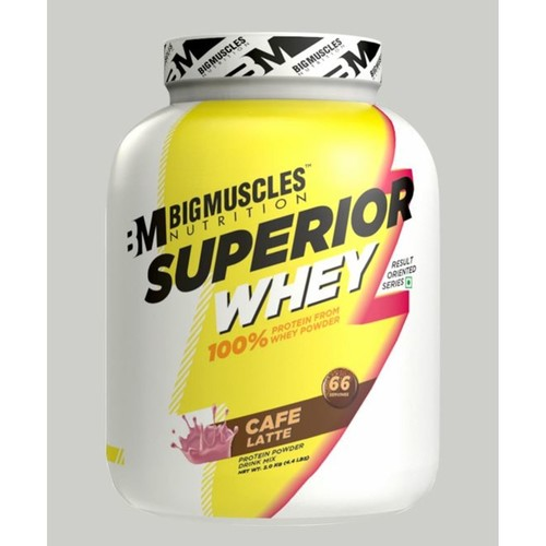 MastMart Bigmuscles Nutrition Superior Whey Protein Cafe Latte 4.4 lbs