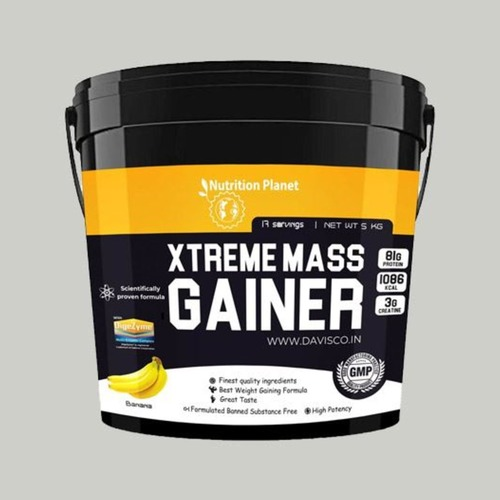 Nutrition Planet - Xtreme Mass Gainer wDigeZyme Banana 5 kg