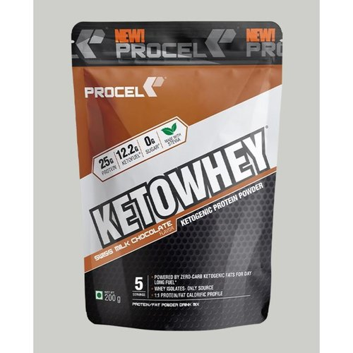 MastMart PROCEL KETOWHEY High Fat Protein Powder with Ketofuel 2kg Chocolate Cheesecake - Buy one Get One Free