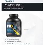 MastMart MuscleBlaze Whey Performance Protein, 2 Kg Chocolate
