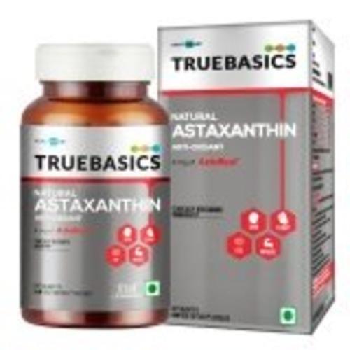 MastMart TrueBasics Astaxanthin 4mg, 60 capsules