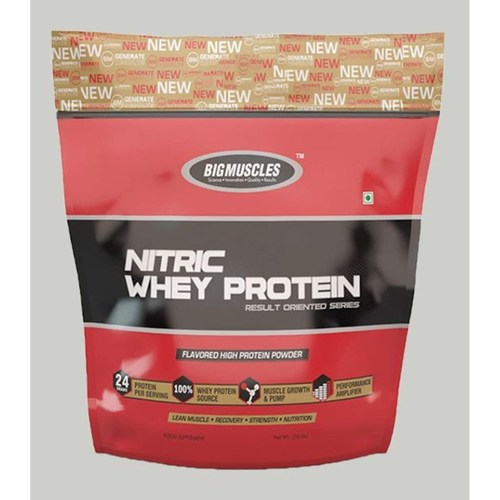 MastMart Bigmuscles Nutrition Nitric Whey Protein Rich Chocolate 10 lbs