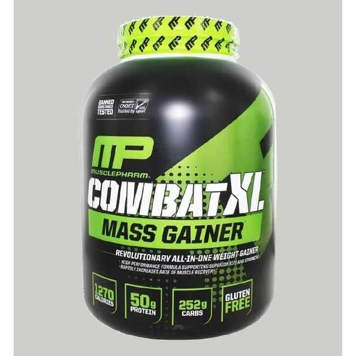 Musclepharm - Combat XL Mass Gainer Chocolate 6 Lbs