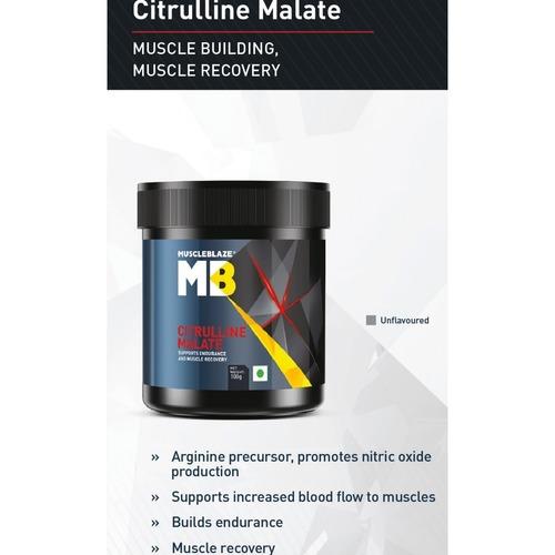 MastMart MuscleBlaze Citrulline Malate, 0.1 Kg Unflavored