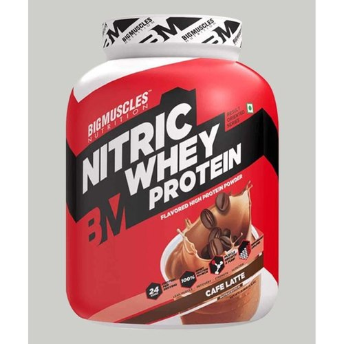 MastMart Bigmuscles Nutrition Nitric Whey Protein Caffe Latte 4.4 lbs