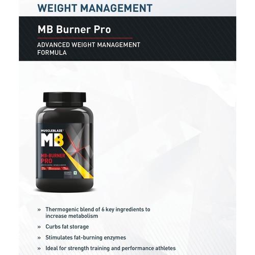 MastMart MuscleBlaze MB Fat Burner PRO, 90 capsules Unflavoured