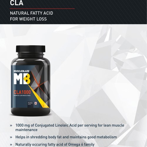 MastMart MuscleBlaze CLA 1000, 90 softgels