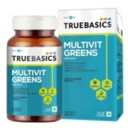 MastMart TrueBasics Multivit Greens - All Veg Multivitamin, Unflavoured 90 tablets