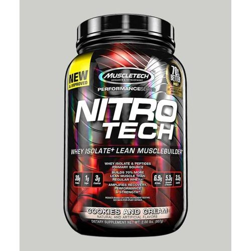 WellnessMart Muscletech Nitrotech Performance Series Milk Chocolate 2 Lbs