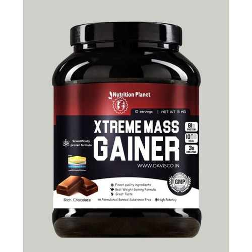 Nutrition Planet - Xtreme Mass Gainer Chocolate 3 kg