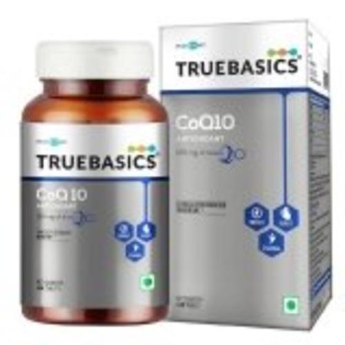 MastMart TrueBasics CoQ 10 AntiOxidant with 120 mg of Kaneka Q10,, 60 tablets
