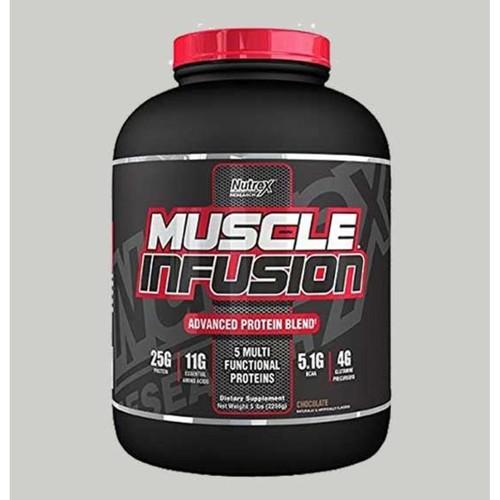 WellnessMart Nutrex -  Muscle Infunsion 5 Lbs Chocolate