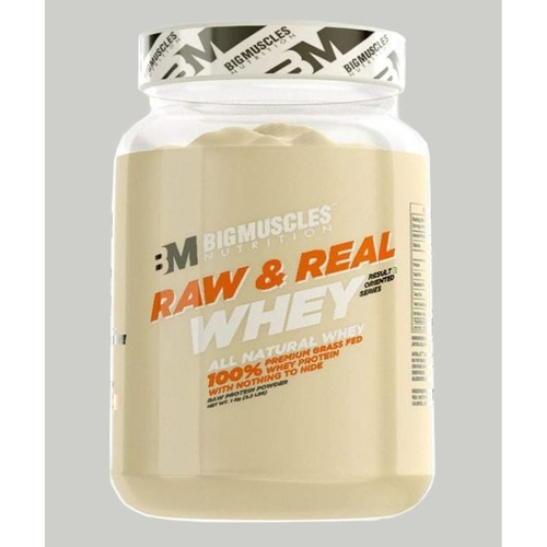 MastMart Bigmuscles Nutrition Raw & Real Whey Protein Unflavoured 2.2 lbs