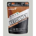 MastMart PROCEL KETOWHEY Keto Isolate Whey Protein Powder with Ketofuel- 2kg Salted Caramel Shake