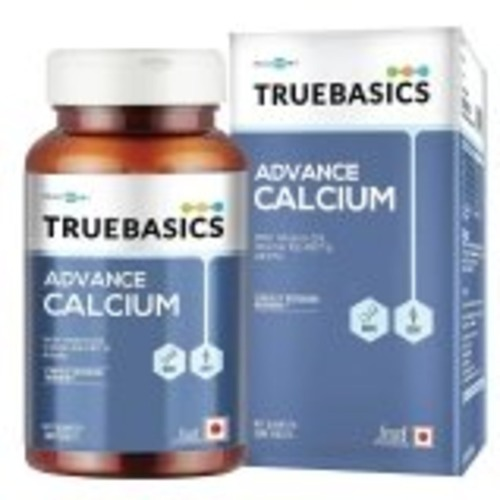MastMart TrueBasics Advance Calcium,  Unflavoured 90 tablets